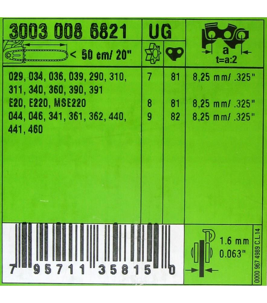 Stihl 30030006821 Führungsschiene Schwert 50 cm .325' 1,6 mm - 11 Z 3003 000 6821