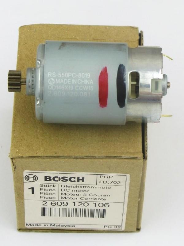 Bosch 2609120106 Motor PSR 12 VE-2 Orginal (2609120081) 2 609 120 106