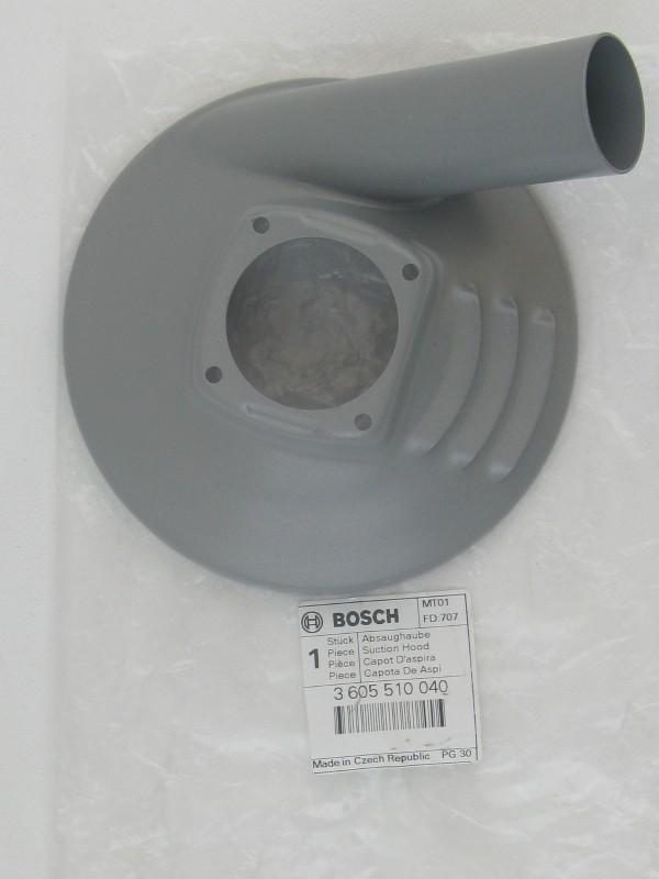 Bosch 3605510040 original Absaughaube 3605510040 Metall Betonschleifer,GBR 14 C,GBR 14 CA