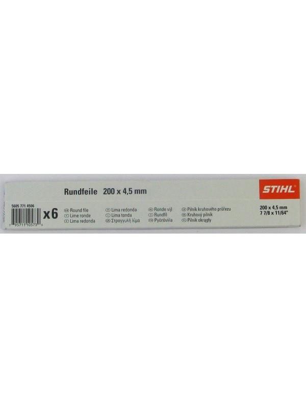 Stihl 56057714506 Rundfeile 6 Stück für Sägeketten 4,5 mm für 325'