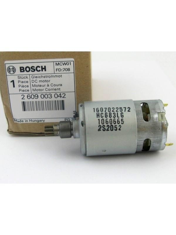 Bosch 2609003042 original Motor 14,4V UNEO Akku-Bohrhammer 2 609 003 042 ( 1607022572 )