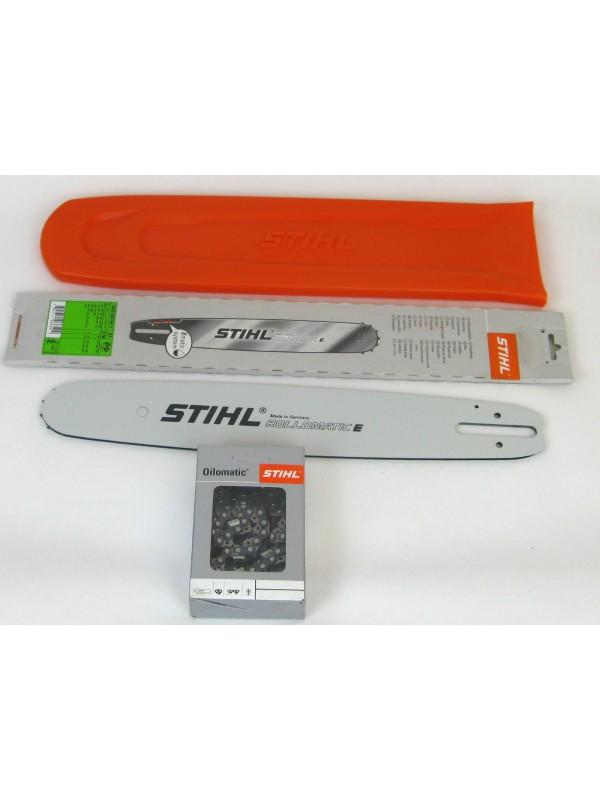 Stihl 30030006811 Rollomatic E 37cm 0,325'1,6mm1xStihl Vollmeißelktte+Stihl Schwertschutz