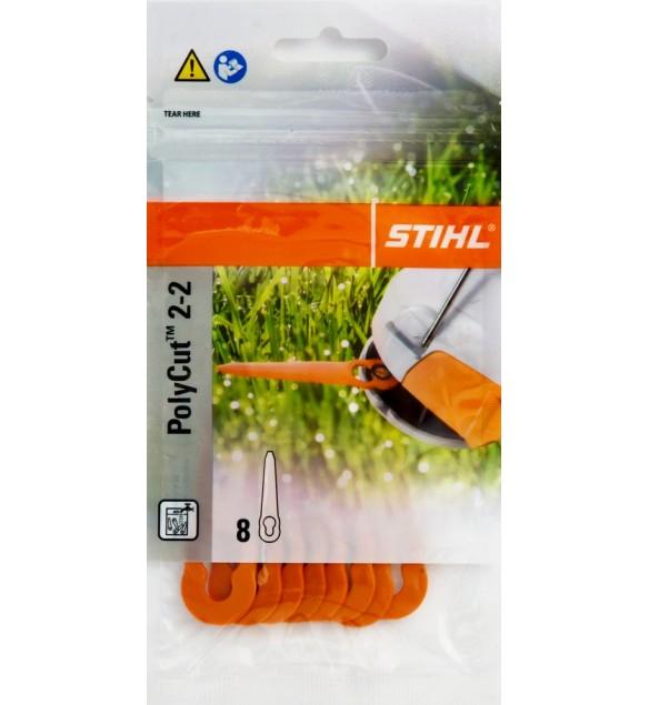 STIHL 40080071000 original PolyCut 2-2 Klingen Kunststoffmesser für FSA 45