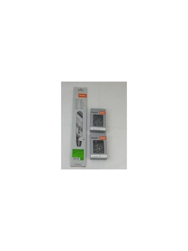 Stihl 30030006811 Rollomatic E 37cm 0,325' 1,6mm 2x Stihl Vollmeißelketten RSC 3639 000 0062