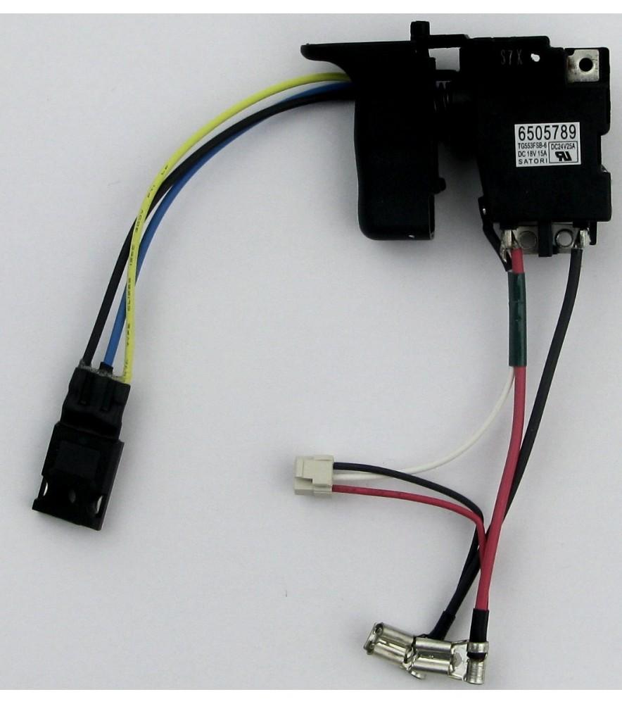 Makita  650578-9  original  Elektronikschalter,Schalter