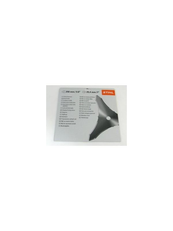 Stihl  41127134100 original 250 mm FS 65 - 106 Dickichtmesser 250