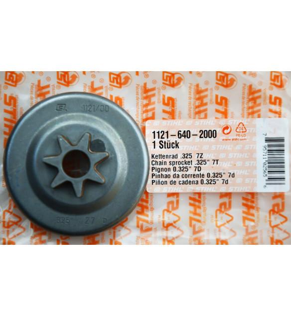 STIHL 11216402000 original Kettenrad 325' 7Z flach 024, 026, MS240,MS260