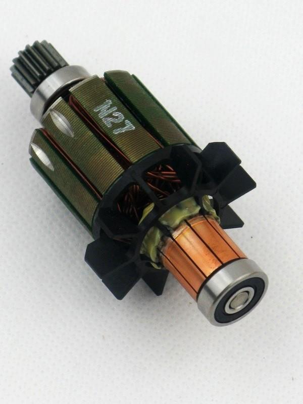 Makita 619228-5 original Anker Rotor Motor 14,4 Volt für BDF444 BHP444