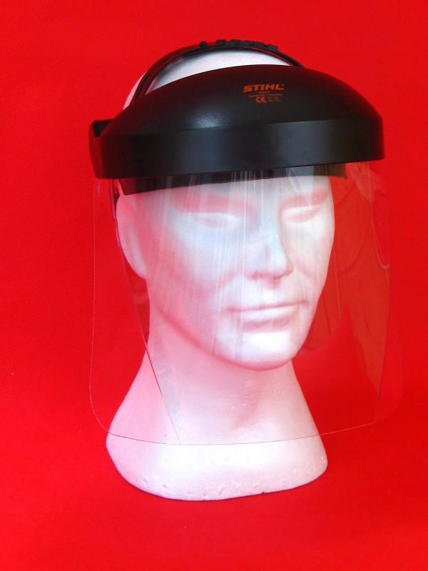 Stihl 000088400255//00008840510 Gesichtsschutz Gehörschutz mit Kunstoffscheibe Stihl 00008840510