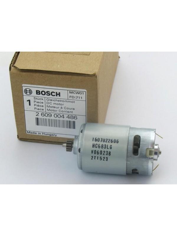 Bosch Original 2609004486 Motor für Bosch PSR14,4 LI-2 ( 1607022606)