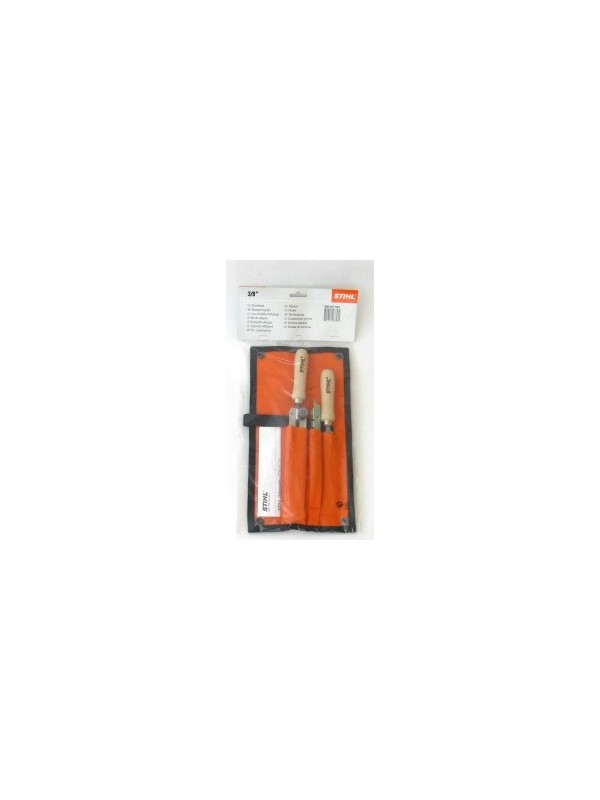 Stihl original 56050071029 Schärfset Feilenhalter, Rundfeile, Flachfeile,5,2mm, für 3/8' Sägekette