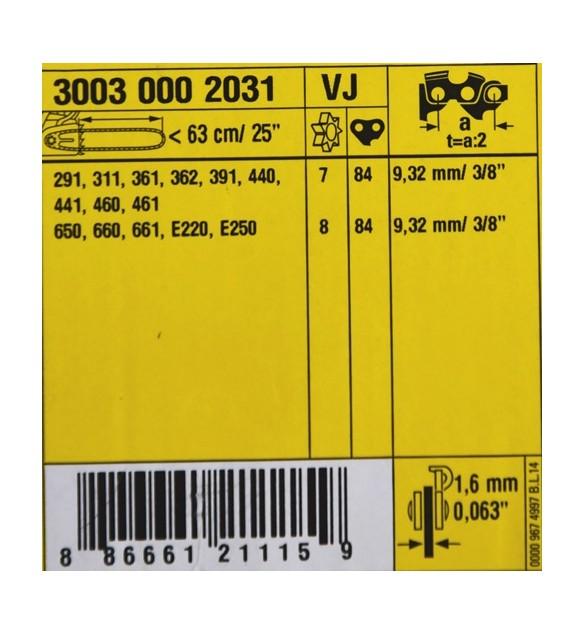 STIHL 30030002031 Rollomatic ES - LIGHT Führungsschiene Schwert 3/8 1,6mm 50, 63 cm