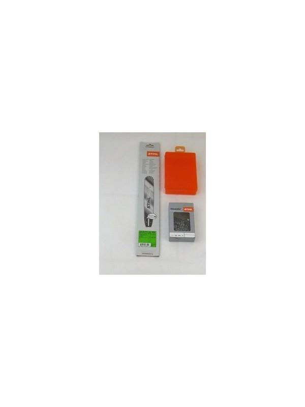 Stihl  30030006811 Führungsschiene Rollomatic Stihl +1 Stihl Halbmeißelkette 62 Glieder +Stihlbox