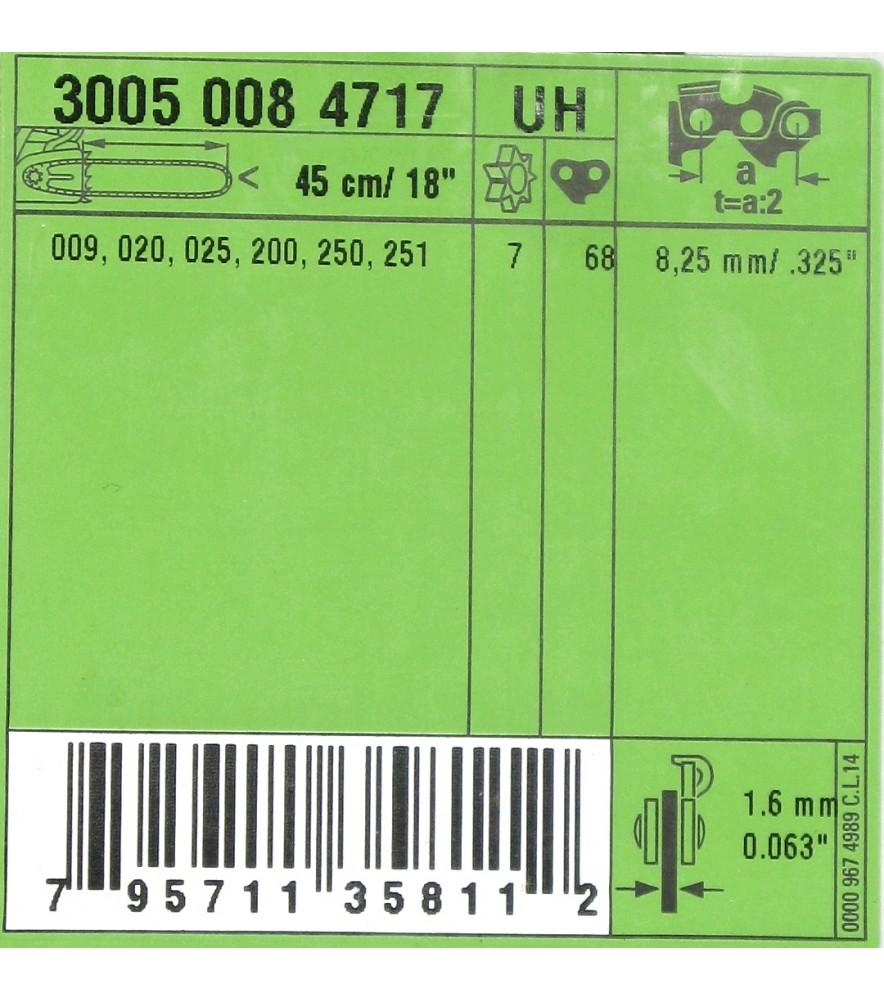 Stihl  30050084717 Kettensäge original Schiene 45cm 1,6 .325 original Ersatzteil 3005 008 4717
