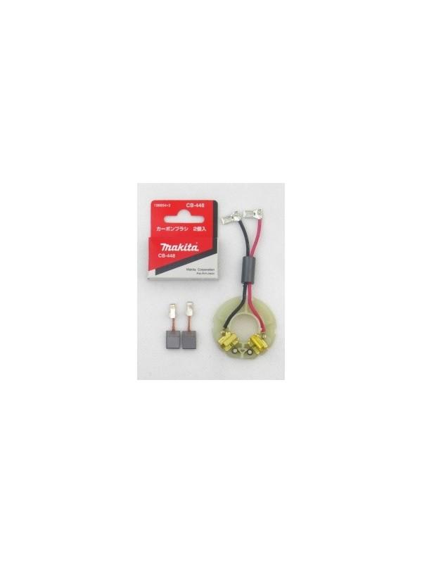 Makita 638845-2 original Kohlebürstenhalter +CB 440 BDF446 456 BHP 446 456 DDF446
