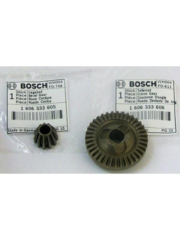 Bosch original Ersatzteil Tellerrad 1606333606+1606333605 Kegelrad 160 für PWS 500/550/600/700,PWS Edition,