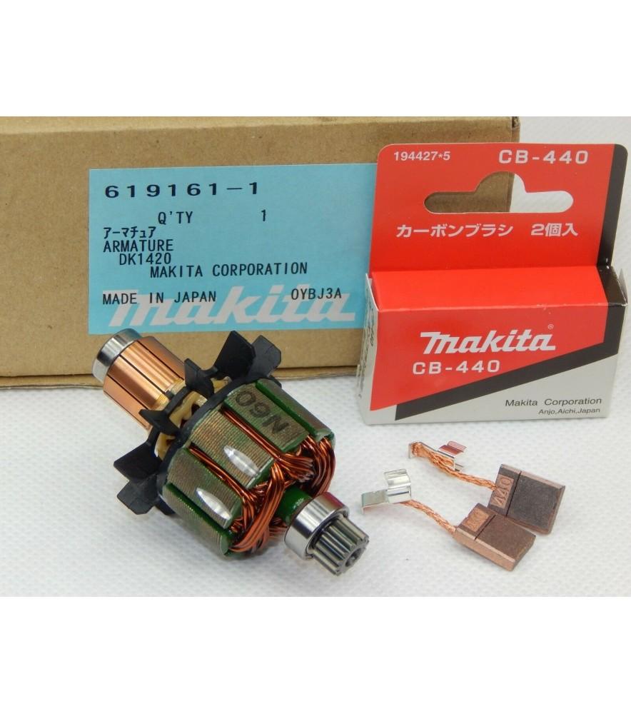 Makita 619161-1 original Anker Rotor BDF440, BHP440 + Makita CB-440