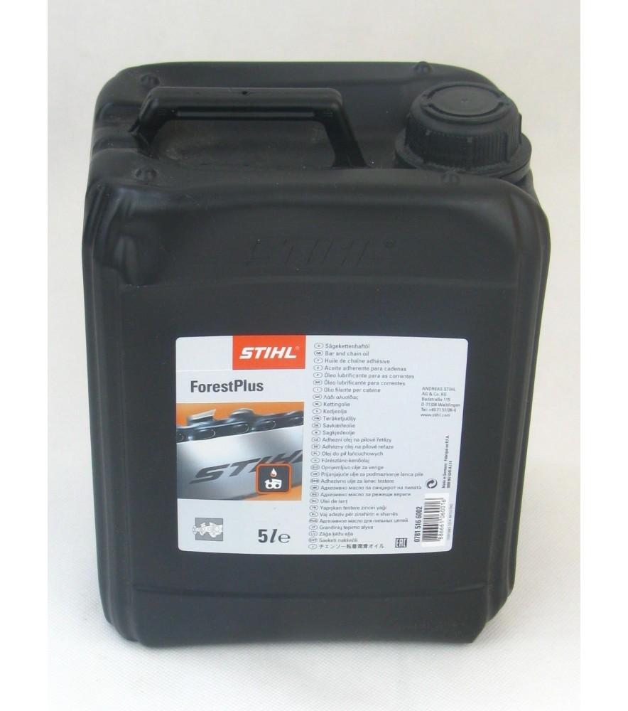 Stihl 07815166002 Sägekettenhaftöl ForestPlus 5 Liter Sägekettenhaftöl Stihl
