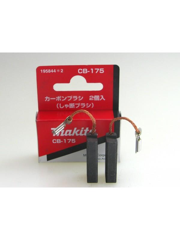 Makita 195844-2 Kohlebürsten CB-175-Original HM1213C, HM1214C, HM1317C