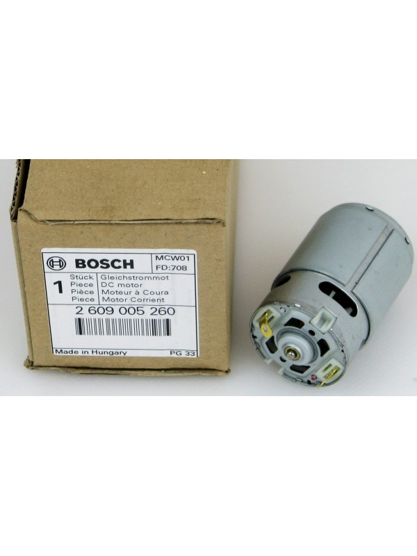 Bosch original Motor 2609005260 PSR 10,8-2 Li Orginal Gleichstrommotor 1607022616 Bosch Logo