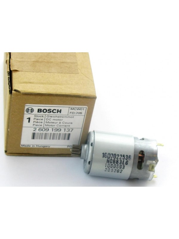 Bosch Original 2609199137 original Motor Gleichstrommotor PSR 12-2 (1607022536)