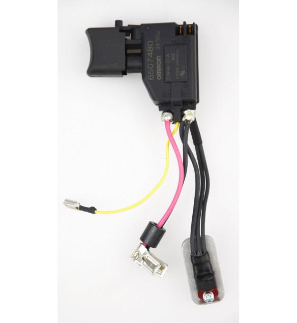 MAKITA 650748-0//632A23-2  Schalter TG563F BHP453 18 V ORIGINAL bis Baujahr NOV 2011