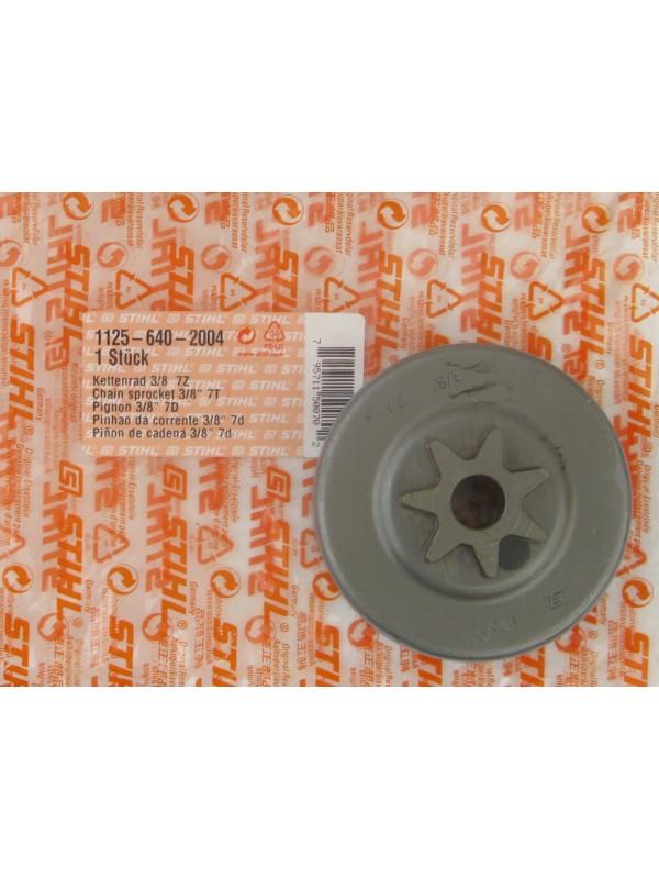 Stihl 11256402004 original Kettenrad 3/8' 7 Zähne für 029 039 MS 290 MS 390