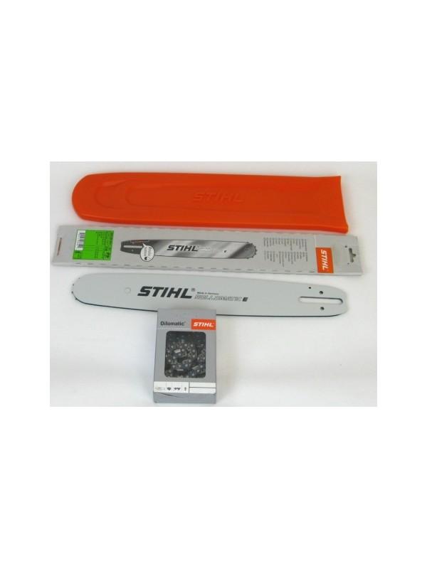 Stihl 30030006811 Rollomatic E 37cm 0,325'1,6mm1xStihl Halbmeißelktte+Stihl Schwertschutz