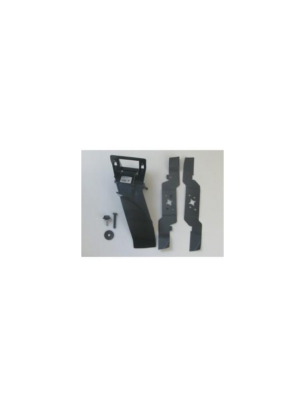 Stihl  69090071032//69090071027 original Messer Mulchkit AMK 043 für Rasenmäher MA MB ME 443 Typ2